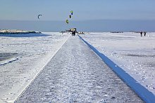 Winterurlaub Nordsee - Strand in St. Peter-Ording