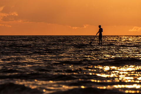 Stand Up Paddling Nordsee