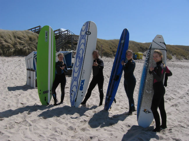 Surfschule Sylt Ride On